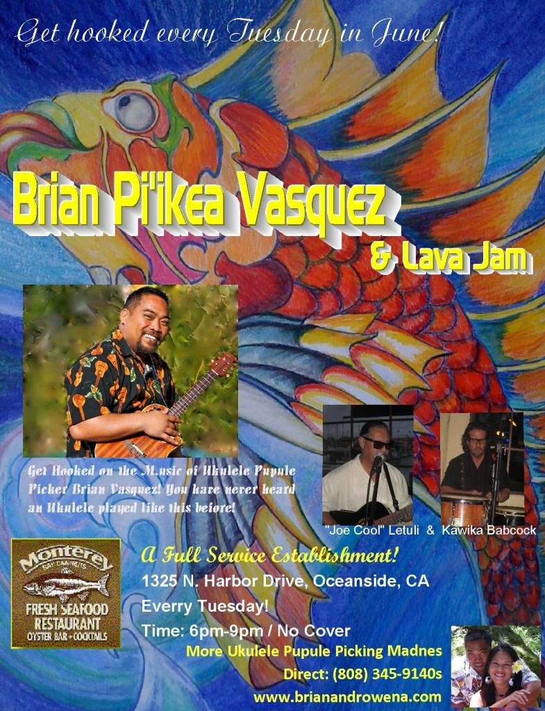 Brian Pi'ikea Vasquez & Lava Jam