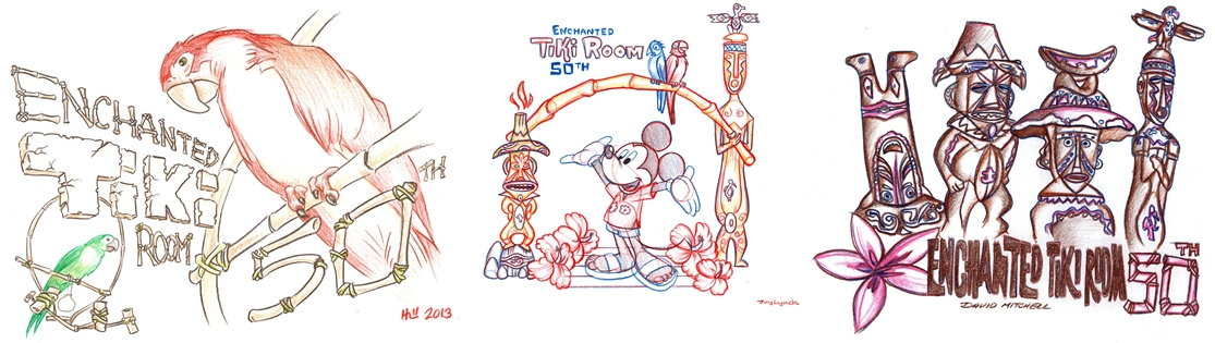 Walt Disney's Enchanted Tiki Room 50th Anniversary