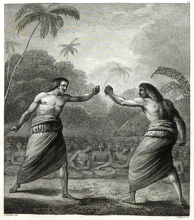 A Boxing Match in Hapaee (Tonga) by John Webber