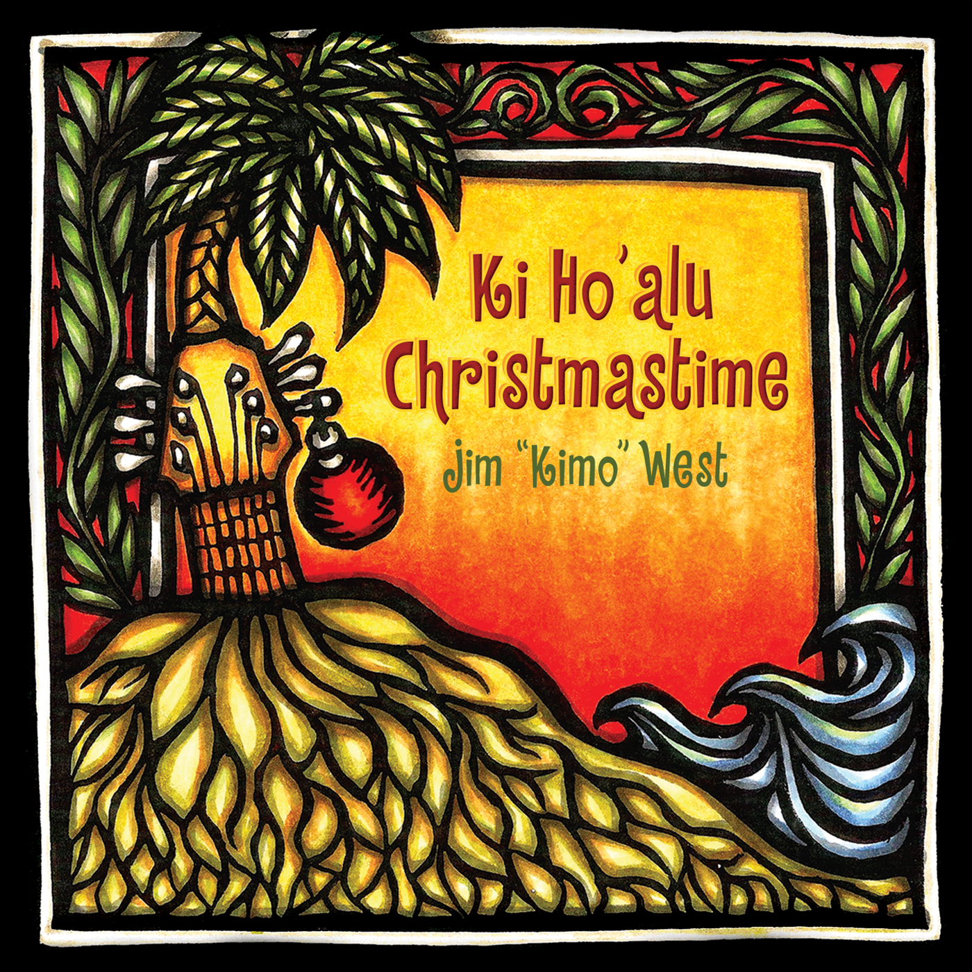 Kimo West, Ki Ho'alu Christmastime