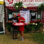 Hawaii's Daughters Guild Booth at 2014 Alondra Park Ho'olaule'a. Photo credit: Makanani Rickard