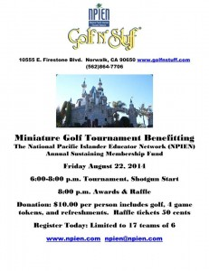 NPIEN Mini Golf Tournament @ Golf N Stuff | Norwalk | California | United States
