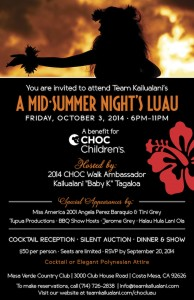 A Mid-Summer Nights Luau @ Mesa Verde Country Club | Costa Mesa | California | United States