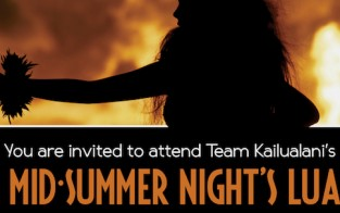 Team Kailualani hosts A Mid-Summer Night's Luau to benefit CHOC Children's Hospital