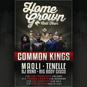 Home Grown Cali Tour @ The Observatory | Santa Ana | California | United States
