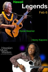 "Hawaiian Music Masters Series: ""Legends"" @ Irvine Barclay Theatre 