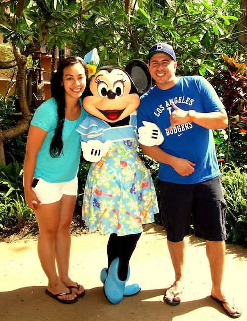 Aulani Resort with Minnie (2012)