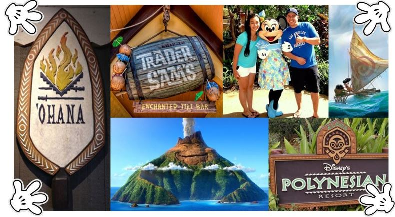 Disney and the South Pacific: the tropical Pacific Islands of Oceania have long inspired Disney in a multitude of ways... from animated films, to rides and attractions, bars and restaurants, and even a resort! Here's a look at eight (8) of Disney's Polynesian treasures.