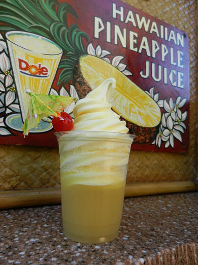 Tiki Juice Bar: Pineapple Dole Whip Soft-Serve