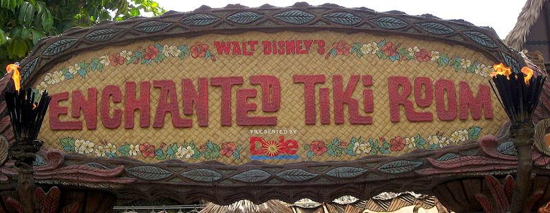 Walt Disney's Enchanted Tiki Room, Disneyland