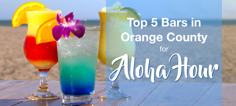 5 Best OC Spots for Aloha Hour