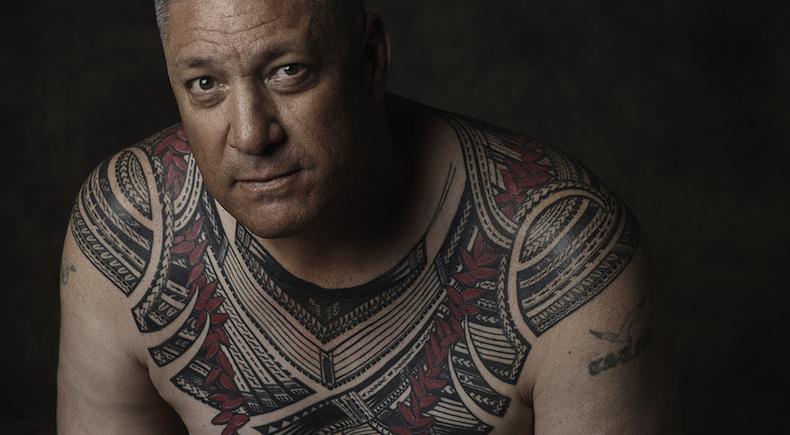 Tatau: Marks of Polynesia. Tattoo by Sulu'ape Si'i Liufau. Photo by John Agcaoili.