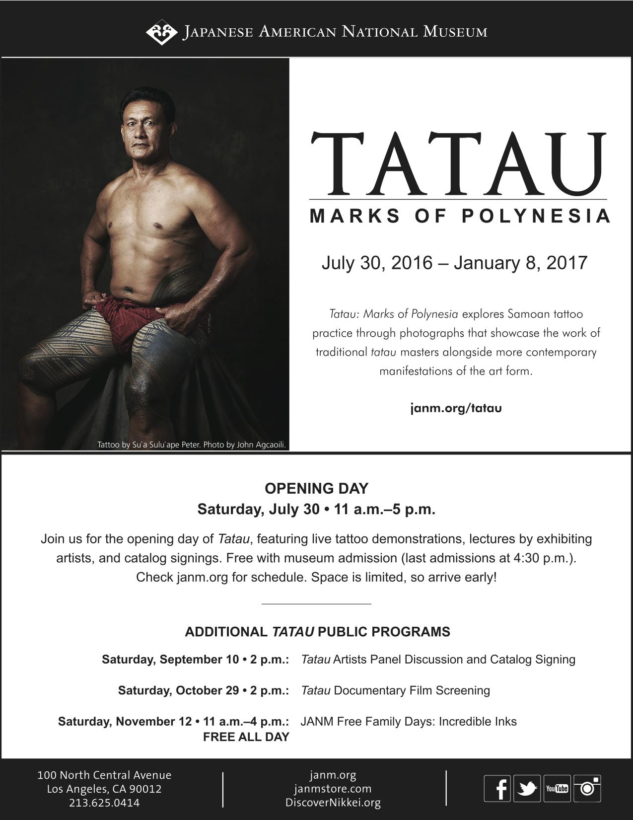 Tatau: Marks of Polynesia