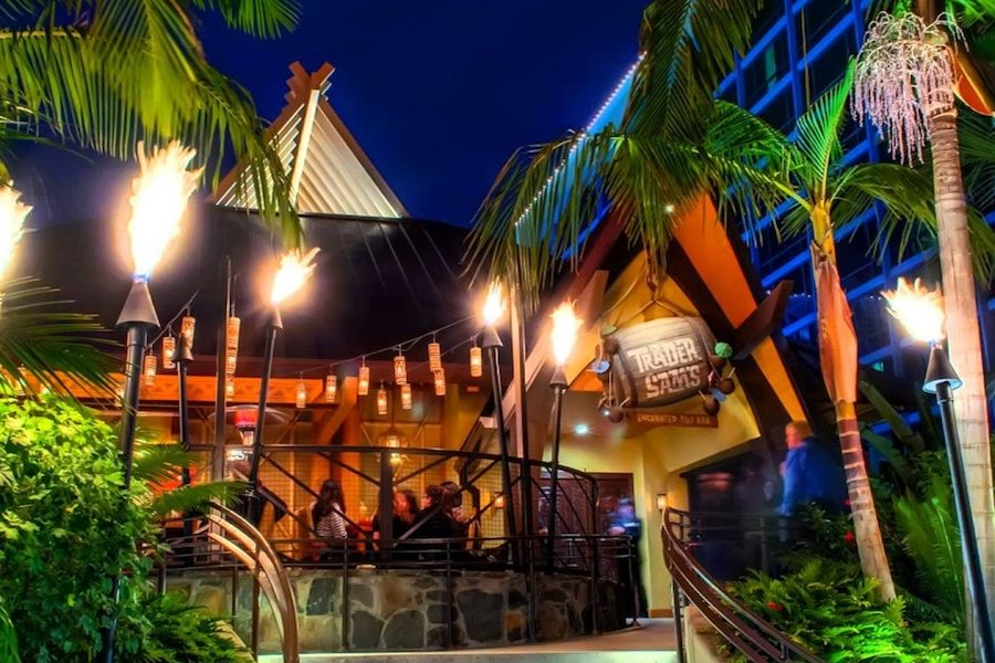 Trader Sam's Enchanted Tiki Bar Disneyland Hotel