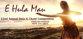 E Hula Mau (September 2-4, 2016)