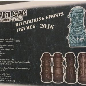 Trader Sam's Hitchhiking Ghosts Tiki Mug 2016