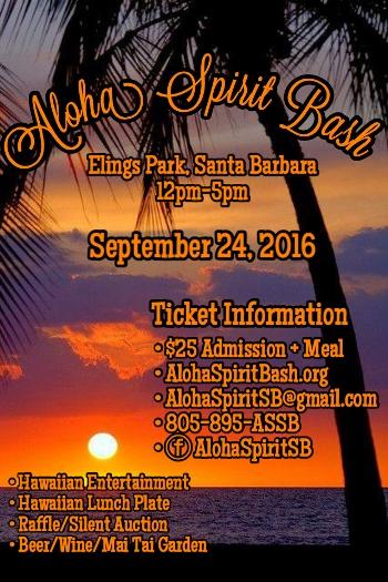 Aloha Spirit Bash 2016