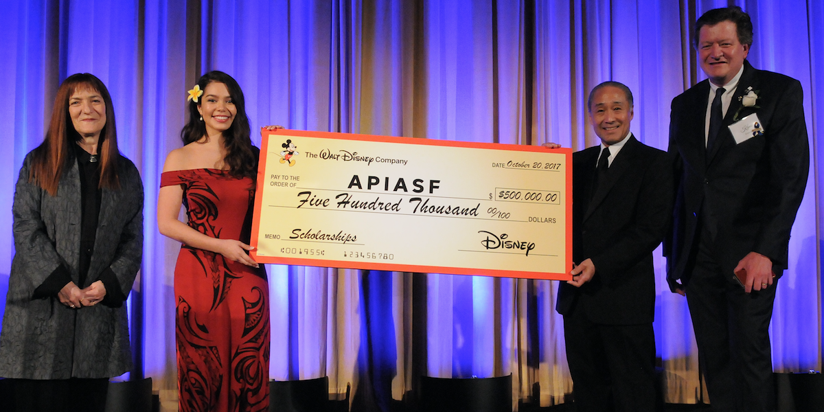 Disney Asian & Pacific Islander American Scholarship Fund APIASF Scholarship with Aulii Carvalho