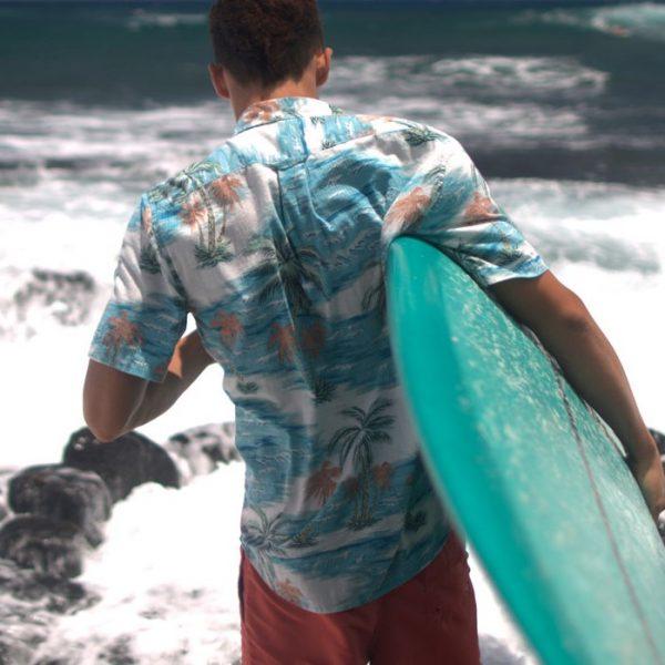 """Reyn Spooner, Schaper """"Lunch Break"""" Surfboard"""