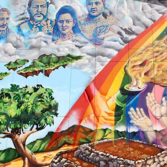 Robert Louis Stevenson Middle School Mural, Hawaii State Department of Education (HIDOE)