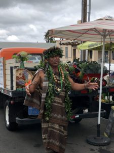 Hawaiian blessing at new restaurant opening