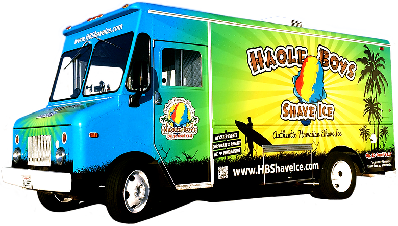 Haole Boys Shave Ice Truck